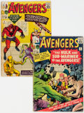 Silver Age (1956-1969):Superhero, The Avengers #2 and 3 Group (Marvel, 1963) Condition: Average GD.... (Total: 2 Comic Books)