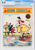 Platinum Age (1897-1937):Miscellaneous, King Comics #4 (David McKay Publications, 1936) CGC FN+ 6.5 Off-white pages....