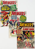 Silver Age (1956-1969):Superhero, The Avengers Group of 6 (Marvel, 1964-67) Condition: Average FN.... (Total: 6 Comic Books)