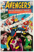 Silver Age (1956-1969):Superhero, The Avengers #7 (Marvel, 1964) Condition: FN/VF....