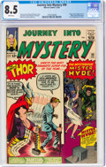 Silver Age (1956-1969):Superhero, Journey Into Mystery #99 (Marvel, 1963) CGC VF+ 8.5 White pages....