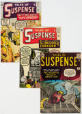 Silver Age (1956-1969):Superhero, Tales of Suspense #30, 35, and 36 Group (Marvel, 1962) Condition: Average VG.... (Total: 3 Comic Books)