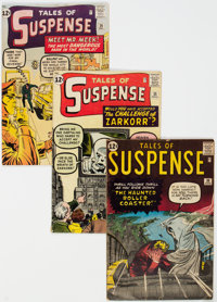 Tales of Suspense #30, 35, and 36 Group (Marvel, 1962) Condition: Average VG.... (Total: 3 Comic Books)