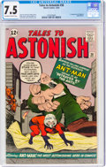 Silver Age (1956-1969):Superhero, Tales to Astonish #38 (Marvel, 1962) CGC VF- 7.5 Off-white to white pages....