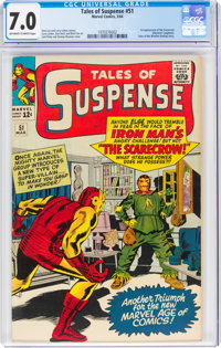 Tales of Suspense #51 (Marvel, 1964) CGC FN/VF 7.0 Off-white to white pages