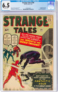 Silver Age (1956-1969):Superhero, Strange Tales #106 (Marvel, 1963) CGC FN+ 6.5 Off-white pages....