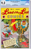 Golden Age (1938-1955):Funny Animal, Land of the Lost Comics #3 (EC, 1946) CGC NM- 9.2 Off-white pages....