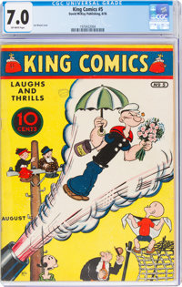 King Comics #5 (David McKay Publications, 1936) CGC FN/VF 7.0 Off-white pages