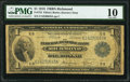 Fr. 722 $1 1918 Federal Reserve Bank Note PMG Very Good 10