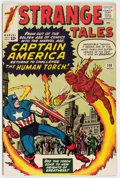 Silver Age (1956-1969):Superhero, Strange Tales #114 (Marvel, 1963) Condition: FN+....