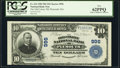 Plymouth, MA - $10 1902 Plain Back Fr. 624 The Old Colony National Bank Ch. # 996 PCGS New 62PPQ.</