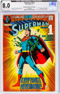 Bronze Age (1970-1979):Superhero, Superman #233 Murphy Anderson File Copy (DC, 1971) CGC VF 8.0 Off-white to white pages....