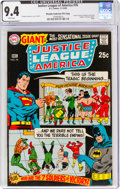 Silver Age (1956-1969):Superhero, Justice League of America #76 Murphy Anderson File Copy (DC, 1969) CGC NM 9.4 White pages....