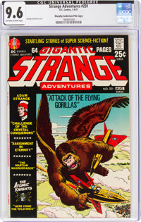 Strange Adventures #231 Murphy Anderson File Copy (DC, 1971) CGC NM+ 9.6 Off-white to white pages