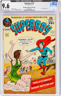 Superboy #179 Murphy Anderson File Copy (DC, 1971) CGC NM+ 9.6 Off-white to white pages