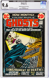 Ghosts #11 Murphy Anderson File Copy (DC, 1973) CGC NM+ 9.6 White pages
