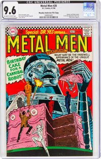 Metal Men #20 Murphy Anderson File Copy (DC, 1966) CGC NM+ 9.6 Off-white to white pages