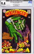 Silver Age (1956-1969):Superhero, Challengers of the Unknown #65 Murphy Anderson File Copy (DC, 1969) CGC NM 9.4 Off-white to white pages....