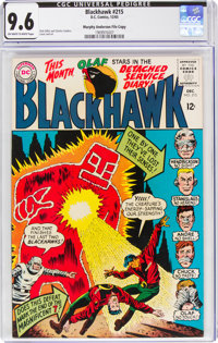 Blackhawk #215 Murphy Anderson File Copy (DC, 1965) CGC NM+ 9.6 Off-white to white pages