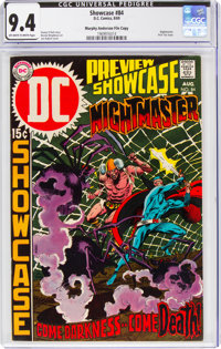 Showcase #84 Nightmaster - Murphy Anderson File Copy (DC, 1969) CGC NM 9.4 Off-white to white pages