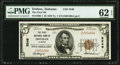 National Bank Notes:Alabama, Dothan, AL - $5 1929 Ty. 1 The First National Bank Ch. # 5249 PMG Uncirculated 62 EPQ.. ...