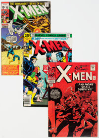 X-Men Group of 6 (Marvel, 1966-76) Condition: Average FN-.... (Total: 6 Item)
