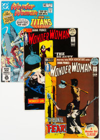 Wonder Woman Group of 21 (DC, 1972-83) Condition: Average NM-.... (Total: 21 Comic Books)