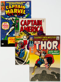 Marvel Silver Age Group of 4 (Marvel, 1960s).... (Total: 4 Comic Books)
