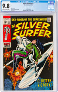 Silver Age (1956-1969):Superhero, The Silver Surfer #11 (Marvel, 1969) CGC NM/MT 9.8 Off-white to white pages....