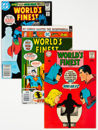 World's Finest Comics Group of 29 (DC, 1968-85) Condition: Average VF/NM.... (Total: 29 Comic Books)