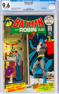 Batman #239 (DC, 1972) CGC NM+ 9.6 Off-white pages