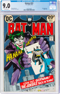 Bronze Age (1970-1979):Superhero, Batman #251 (DC, 1973) CGC VF/NM 9.0 Off-white pages....