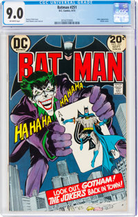 Batman #251 (DC, 1973) CGC VF/NM 9.0 Off-white pages
