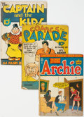 Golden Age (1938-1955):Humor, Golden Age Humor Comics Group of 19 (Various Publishers, 1940s) Condition: Average FR.... (Total: 19 Comic Books)