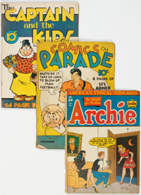 Golden Age Humor Comics Group of 19 (Various Publishers, 1940s) Condition: Average FR.... (Total: 19 Comic Books)