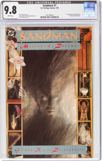 Sandman #1 (DC, 1989) CGC NM/MT 9.8 White pages