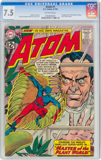 The Atom #1 (DC, 1962) CGC VF- 7.5 Off-white pages