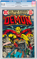 Bronze Age (1970-1979):Superhero, The Demon #1 (DC, 1972) CGC VF/NM 9.0 Off-white to white pages....