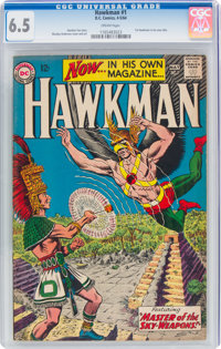 Hawkman #1 (DC, 1964) CGC FN+ 6.5 Cream pages