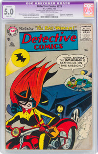 Detective Comics #233 (DC, 1956) CGC Apparent VG/FN 5.0 Slight (A) Cream to off-white pages