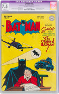 Golden Age (1938-1955):Superhero, Batman #47 (DC, 1948) CGC Apparent VF- 7.5 Slight (A) Off-white to white pages....