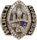 Football Collectibles:Others, 2004 New England Patriots Super Bowl XXXIX Championship Ring Presented to a Linebacker....