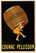 "Movie Posters:Miscellaneous, Cognac Pellisson (1907). Very Fine on Linen. French Advertising Poster (32"" X 47.25"") Leonetto Cappiello Artwork.. ..."