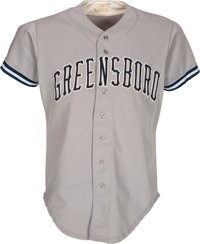 1991-93 Mariano Rivera Game Worn Greensboro Hornets Jersey