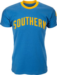 1961-65 Bob Love Game Worn Southern University Jaguars Shooting Shirt