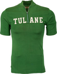 1950's Clifford Wells University of Tulane Green Wave Coach's Worn Shirt