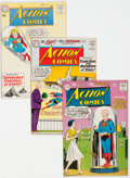 Silver Age (1956-1969):Superhero, Action Comics Group of 5 (DC, 1959-61) Condition: Average FN/VF.... (Total: 5 )