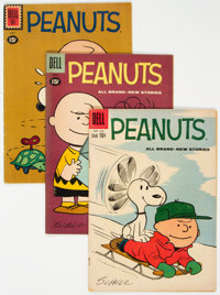 Peanuts Group of 10 (Dell, 1961-64).... (Total: 10 Comic Books)