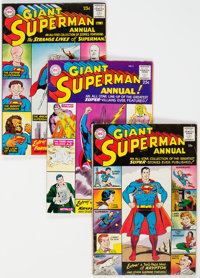 Superman Annual Group of 9 (DC, 1960-65) Condition: Average FN.... (Total: 9 )