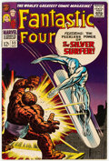 Silver Age (1956-1969):Superhero, Fantastic Four #55 (Marvel, 1966) Condition: FN/VF....